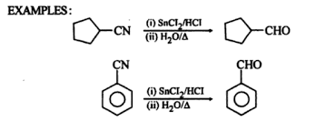 Examples of Stephens Reaction