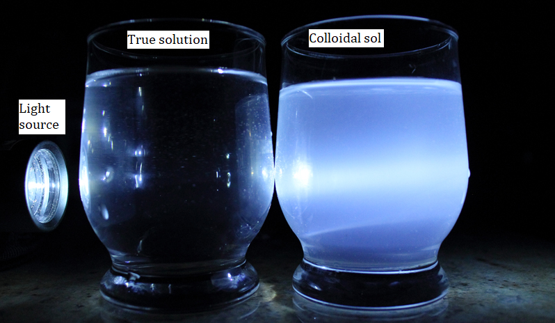 Demonstration of the Tyndall Effect