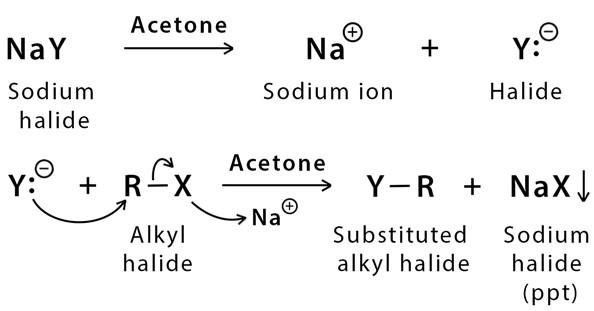Mechanism of Finkelstein Reaction