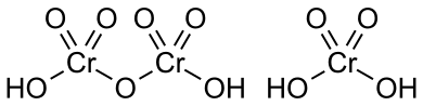 Chromic acid structure