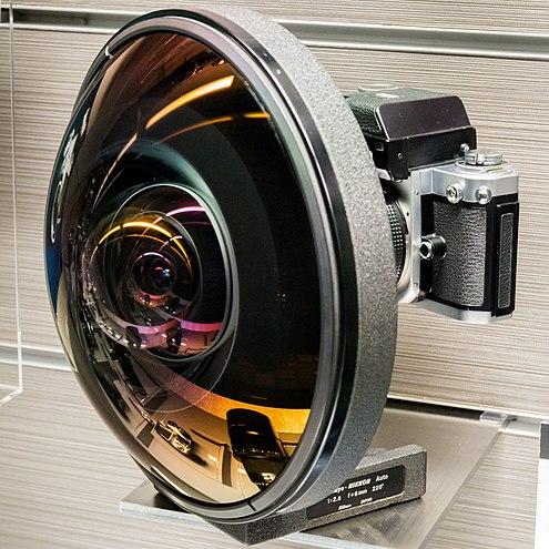 Circular Fisheye lens