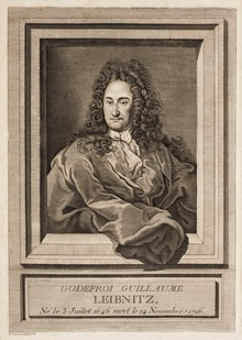 Engraving of Gottfried Wilhelm Leibniz. A German mathematician who proposed Quotient Rule.