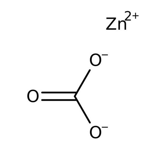 Structure of Zinc Carbonate