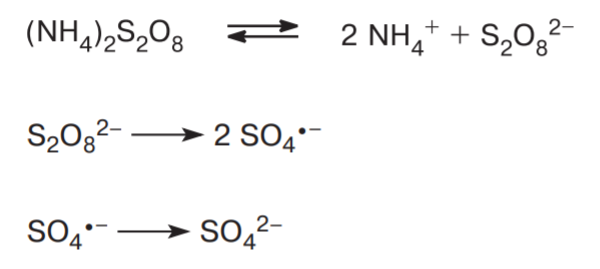formation of sulfuric acid fum.
