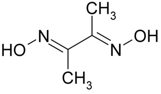 Structure for dimethylglyoxime