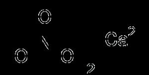 Structure of Calcium Nitrate
