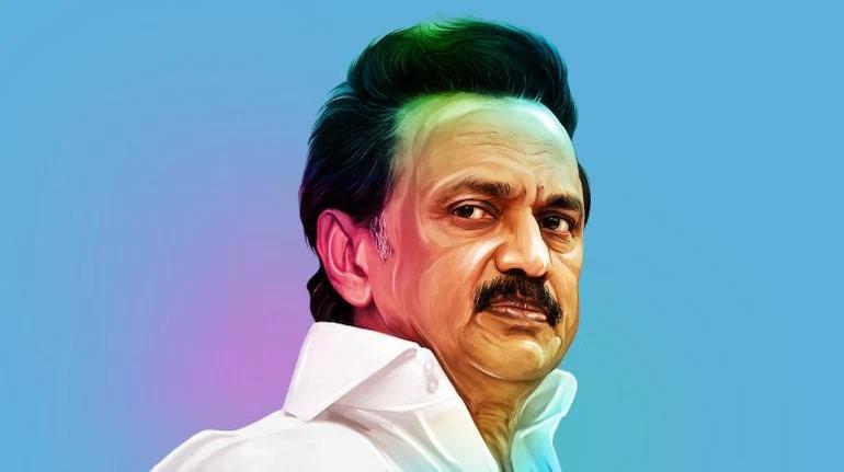 Image of MK stalin, Telangana chief minister ,